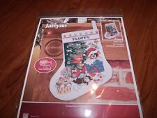 "Janlynn Pet Stocking Counted Cross Stitch Kit 10"" Diagonal"