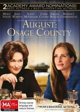 AUGUST - OSAGE COUNTY Meryl Strep & Julia Roberts (DVD, 2014) NEW