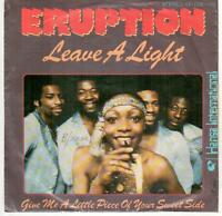 "<4977-19> 7"" Single: Eruption - Leave A Light"
