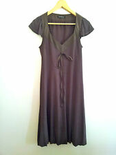Simply Chic! Penny Black size S taupe viscose dress in excellent condition