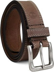 Timberland Men's 35 MM Wide Genuine Leather Classic Jean Belt