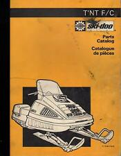 1976 SKI-DOO T'NT F/C SNOWMOBILE PARTS MANUAL P/N 480 1035 00 (244)