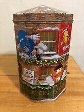 Vintage M&M's Street Players Advertising 2000 Metal Tin Storage Container