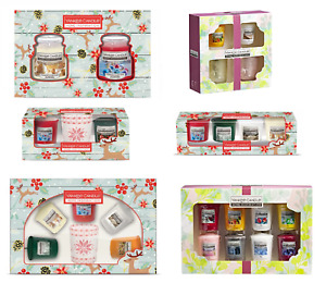 New Yankee Candle Christmas Collection Present Gift Sets of 2,4,5 & 8 Votive UK