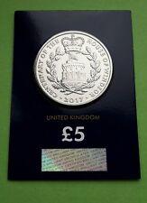 2017 Reino Unido cinco libras moneda del centenario de la Casa de Windsor BU certificado #1