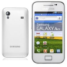 NEW CONDITION (Unlocked) SAMSUNG GALAXY Ace GT-S5830i - WHITE- UK SELLER