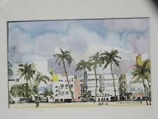 "Miami Beach Print/ 8 1/2"" x 11""/ Mimi Davis, Artist"