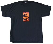 Neil Young Solo Tour Europe UK 2003 Black T Shirt New Official