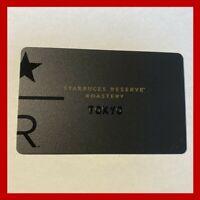 Starbucks Japan Card RESERVE ROASTERY TOKYO 2019 Card sleeveCard PIN intact RARE