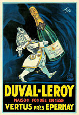 Duval Leroy 1859 French Liqueur Drink Poster Print