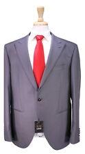 NWT New LUBIAM 1911 Slate Gray 1-Btn Slim Fit Wool Formal Suit 46R
