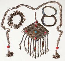 breastplate africa asia middle east * vintage antique Tribal bracelet necklace