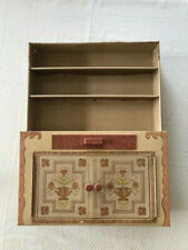 Vintage 1960s Ideal Toy Corp Tin Cabinet