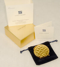Estee Lauder GOLDEN ALLIGATOR Lucidity Pressed POWDER COMPACT 06 Transparent NEW