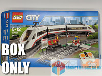 ⭐️LEGO 60051 CITY HIGH-SPEED PASSENGER TRAIN -ORIGINAL BOX ONLY- NO LEGO - NEW⭐️