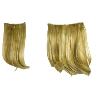 """Hair Extensions Clip In 2 Piece Ken Paves Hairdo Ginger Blonde Fashion 16"""""""