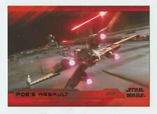 2017 Star Wars The Last Jedi card #5 - RED Parallel Base card 042/199