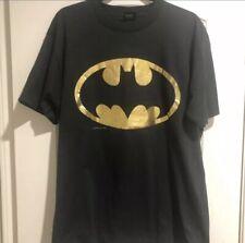 Super Rare Authentic Vintage 1988 Batman Tee Sz: Xl
