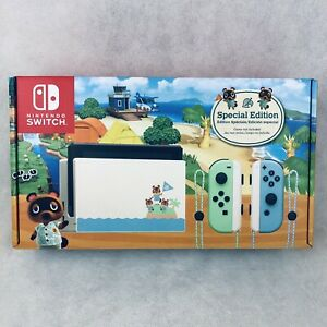 Nintendo Switch Animal Crossing New Horizons Special Edition Console New IN HAND
