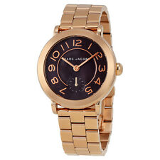 Marc by Marc Jacobs Riley Rose Gold-tone Ladies Watch MJ3489