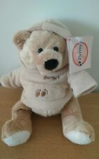 Peluche Doudou Ours sweet polaire 22 cm Berny's Neuf
