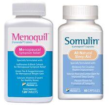 Menoquil Somulin Eliminate Hot Flashes Hormonal Balance Sleep Aid