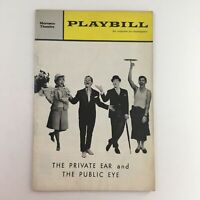 1964 Playbill The Private Ear and The Public Eye at Morosco Theatre
