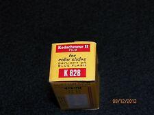 Vtg Kodak Kodachrome II Color K 828 Film Develop before dated 1968  Must L@@k