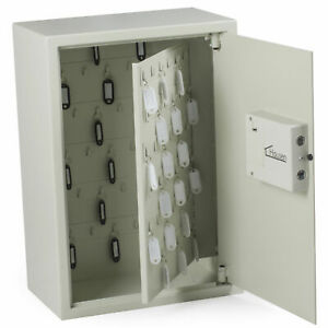 Hausen Wall Mounted 105 Key Electric Combination Lock Cabinet Safe