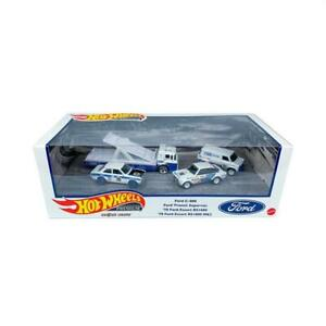 Hot Wheels Premium Ford Rally Premium Set Diorama Box Set IN STOCK - DAMAGED BOX