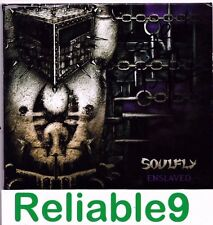 Soulfly - Enslaved Limited ed CD+Bonus tracks Signed Digipak-2012 Roadrunner AUS