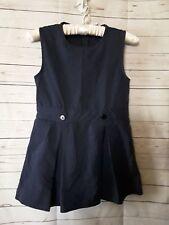 A+ Girls Uniform Jumper Dress Blue Size 6 Reg G/A-11