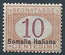 1920 SOMALIA SEGNATASSE 10 CENT MNH ** - ED217