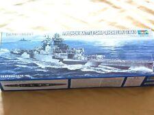 Trumpeter 05750 Warship French Battleship Richelieu 1943 Boat Model 1/700 Scale