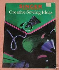 Singer-Creative Sewing Ideas Book