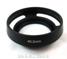 40.5mm Metal Lens Hood for Nikon J1 J2 V1 samsung NX1000 pentax Q Olympus M