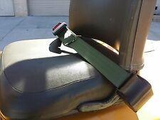 FORKLIFT SEAT LAP BELT, UNIVERSAL SINGLE POINT RETRACTABLE SEAT BELT EQUIPMENT,