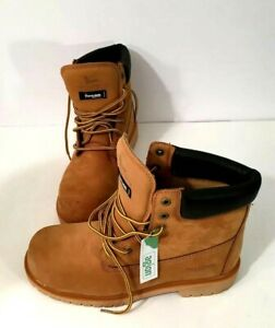Field & Stream Classic Work Boot LEATHER Upper Composite Safety Toe Size 11.5