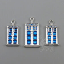 16pc or 5pc Dr Who Charm Set Lot Collection//Phone Booth,Tardis,Screwdriver Mask