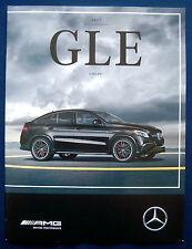 Prospekt brochure 2017 Mercedes AMG GLE Coupé (USA)
