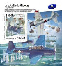 Niger - 2018 Battle of Midway - Stamp Souvenir Sheet - NIG18519b