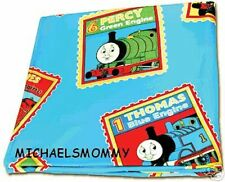 THOMAS the TANK & FRIENDS TRAIN - FULL STEAM AHEAD FLEECE BLANKET SHEET **NEW**