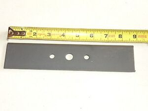"Stens 375-230 Universal Edger Blade 9"" x 2"", 1/2"" hole"