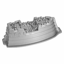 Nordic Ware Pro Cast Pirate Ship Cake Pan , New, Free Shipping