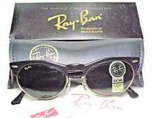 Ray-Ban USA *NOS Vintage *B&L Clubmaster-Wayfarer Max Oval W1266 *NEW Sunglasses