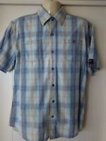 mens Colorado Casual Shirt, Short Sleeves, L, 100% Cotton