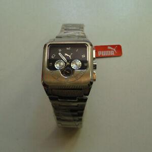 Armbanduhr Herren PUMA Engine 10Bar Uhren Sammleruhr Armbanduhr
