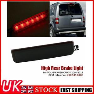 Centre High Level Rear Brake Light For VW Caddy 3rd LED Center Lamp  BLACK 04-15