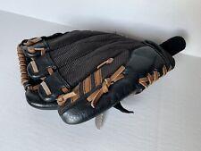 "Adidas TS1000 Baseball Glove 10"" RHT Black Leather Easy Close GUC"