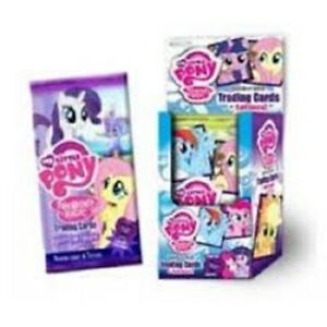 MY LITTLE PONY TRADING CARDS 24 PACK BOOSTER BOX BRAND NEW & SEALED